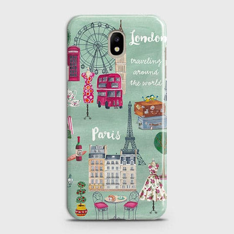 London, Paris, New York Modern Case For Samsung Galaxy J3 Pro