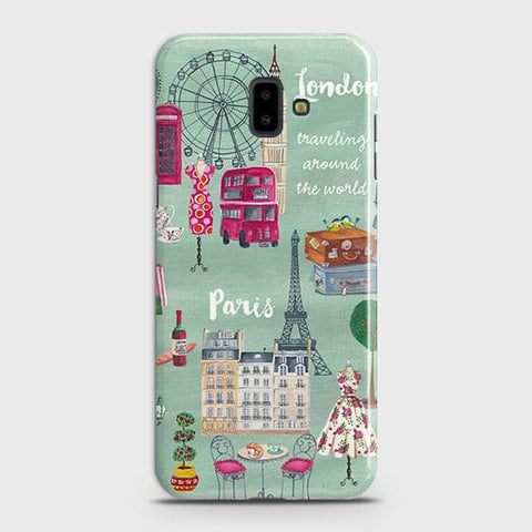 London, Paris, New York Modern Case For Samsung J6 Plus 2018
