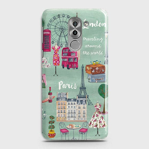 London, Paris, New York Modern Case For Huawei Honor 6X