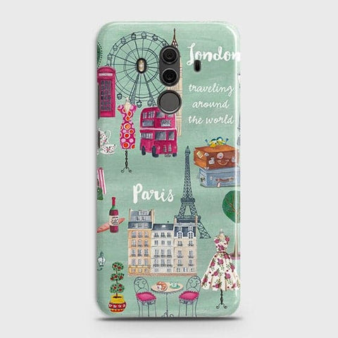London, Paris, New York Modern Case For Huawei Mate 10 Pro