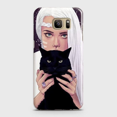 Trendy Wild Black Cat Case For Samsung Galaxy Note 7