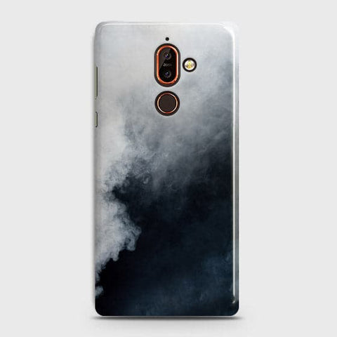 Trendy White Floor Marble Case For Nokia 7 Plus