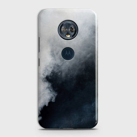 Trendy White Floor Marble Case For Motorola E5 Plus