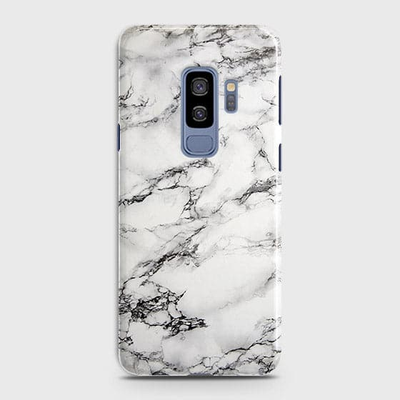 Trendy White Floor Marble Case For Samsung Galaxy S9 Plus