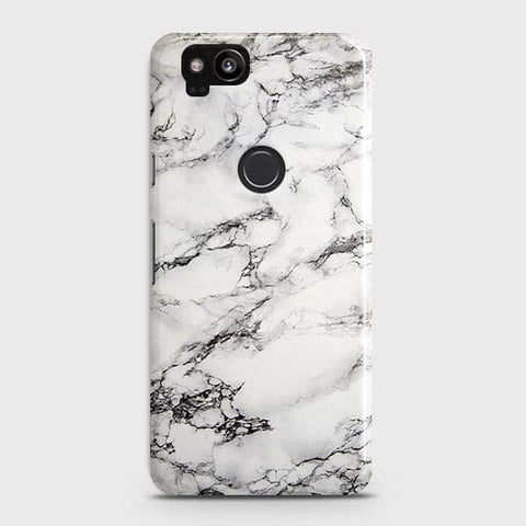 Trendy White Floor Marble Case For Google Pixel 2