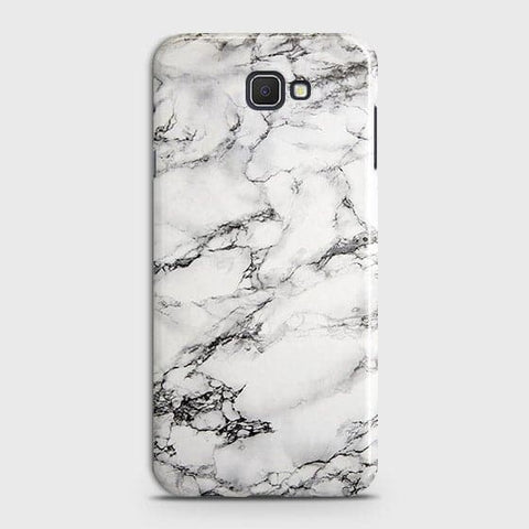 Trendy White Floor Marble Case For Samsung Galaxy J7 Prime