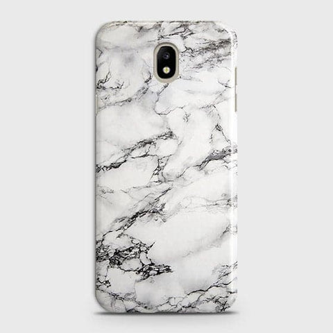 Trendy White Floor Marble Case For Samsung Galaxy J7 2018