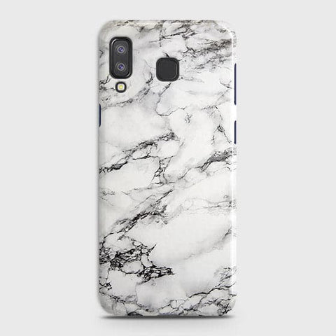 Trendy White Floor Marble Case For Samsung A9 Star