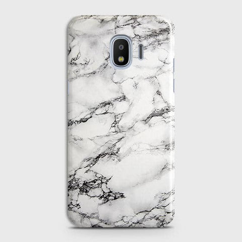 Trendy White Floor Marble Case For Samsung Galaxy J2 Pro 2018