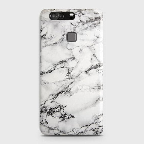 Trendy White Floor Marble Case For Huawei P9