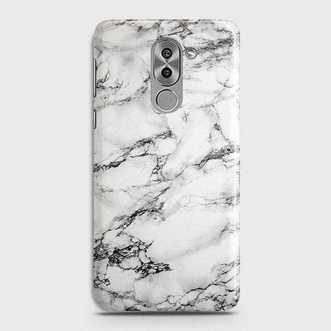 Trendy White Floor Marble Case For Huawei Honor 6X