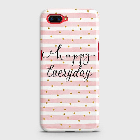Trendy Happy Everyday Case For Oppo A5