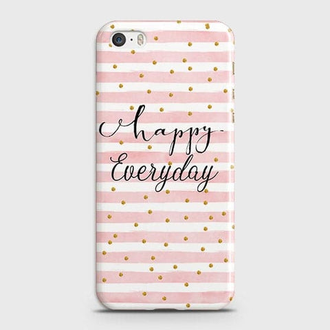 Trendy Happy Everyday Case For iPhone 5 & iPhone SE