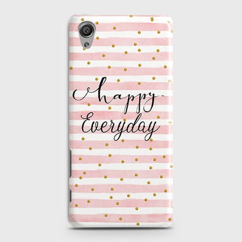 Trendy Happy Everyday Case For Sony Xperia XA