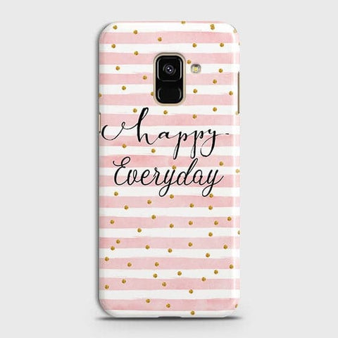 Trendy Happy Everyday Case For Samsung A8 Plus 2018