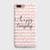 iPhone 7 Plus & iPhone 8 Plus - Trendy Happy Everyday Printed Hard Case With Life Time Colors Guarantee