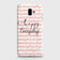Samsung J6 Plus 2018 - Trendy Happy Everyday Printed Hard Case With Life Time Colors Guarantee