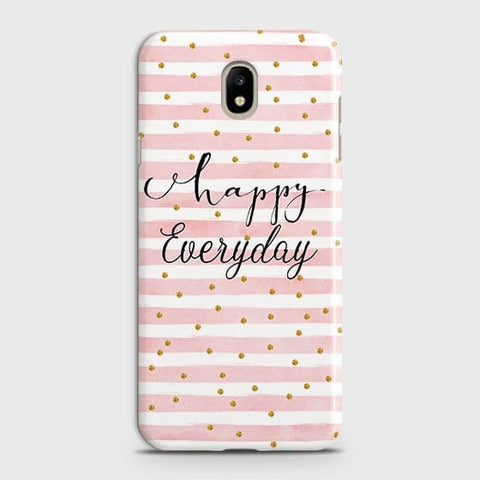 Trendy Happy Everyday Case For Samsung Galaxy J7 2018