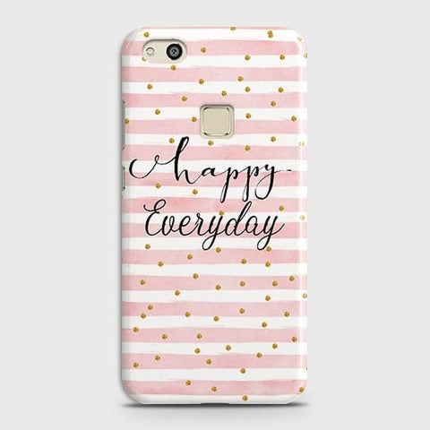 Trendy Happy Everyday Case For Huawei P10 Lite
