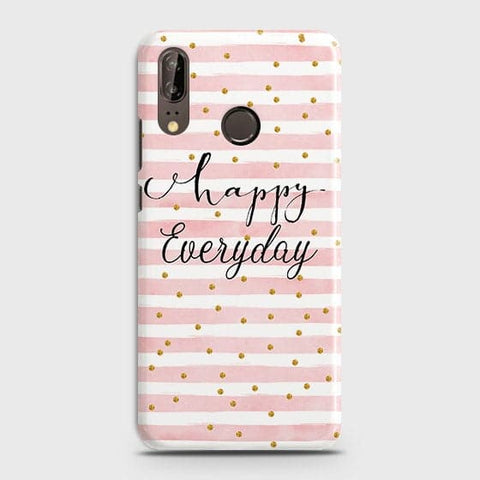 Trendy Happy Everyday Case For Huawei P20
