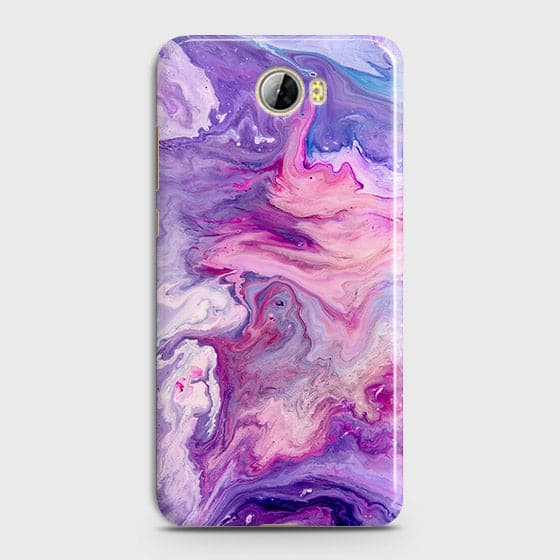 3D Chic Blue Liquid Marble Case For Huawei Y5 II