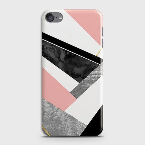 Geometric Luxe Marble Trendy Case For iPod Touch 6