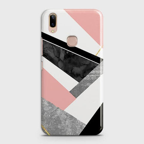 Geometric Luxe Marble Trendy Case For Vivo V9 / V9 Youth