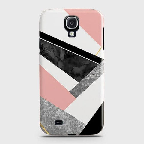 Geometric Luxe Marble Trendy Case For Samsung Galaxy S4