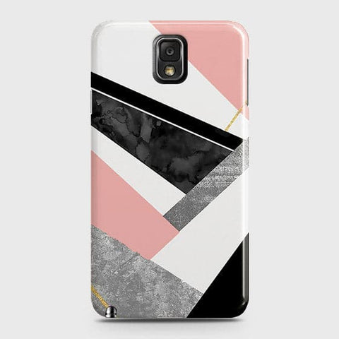 Geometric Luxe Marble Trendy Case For Samsung Galaxy Note 3