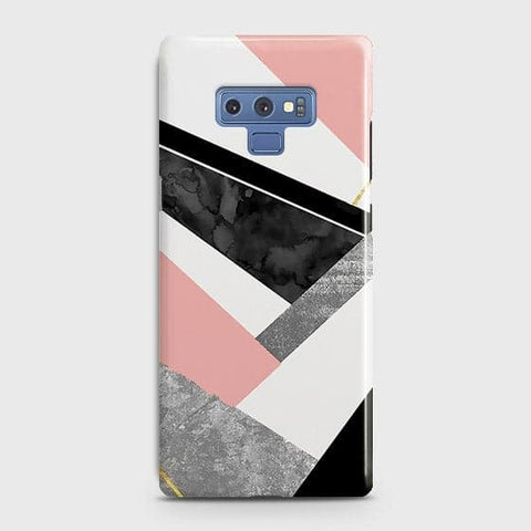 Geometric Luxe Marble Trendy Case For Samsung Galaxy Note 9
