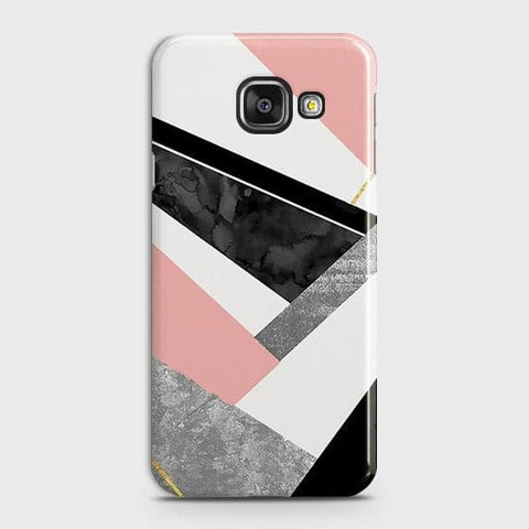 Geometric Luxe Marble Trendy Case For Samsung Galaxy J7 Max