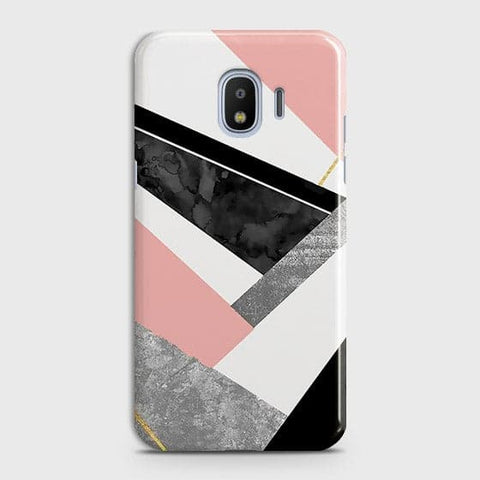 Geometric Luxe Marble Trendy Case For Samsung Galaxy J2 Pro 2018