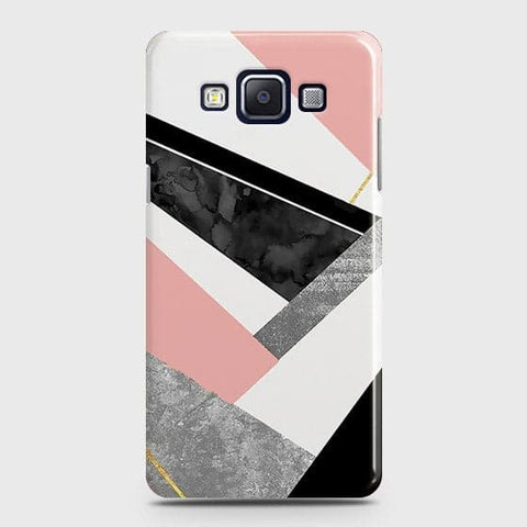 Geometric Luxe Marble Trendy Case For Samsung Galaxy E5