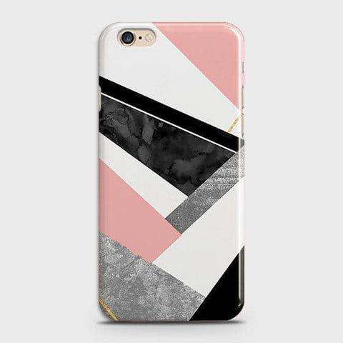 Geometric Luxe Marble Trendy Case For iPhone 6 & iPhone 6S