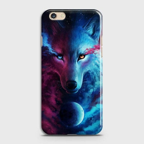 Infinity Wolf 3D Trendy Case For Oppo F1S