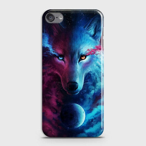 Infinity Wolf 3D Trendy Case For iPod Touch 6