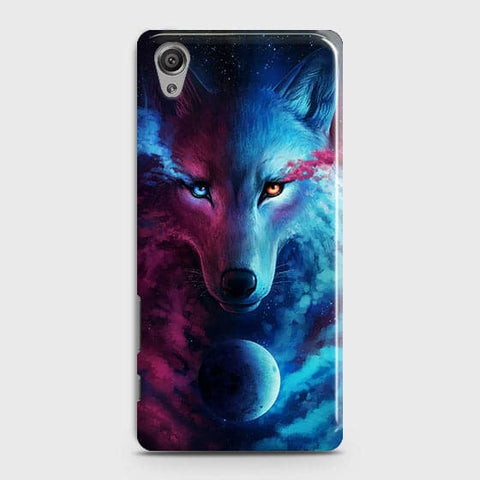 Infinity Wolf 3D Trendy Case For Sony Xperia XA
