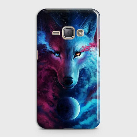 Infinity Wolf 3D Trendy Case For Samsung Galaxy J1 2016 / J120