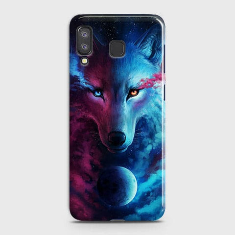 Infinity Wolf 3D Trendy Case For Samsung A8 Star