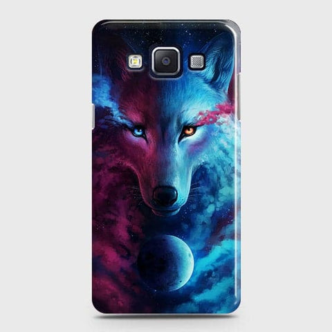 Infinity Wolf 3D Trendy Case For Samsung Galaxy E5