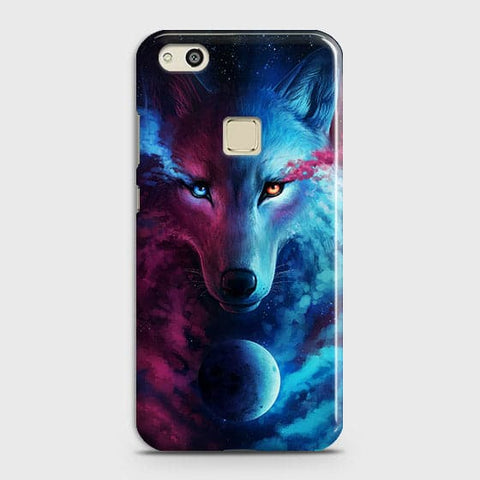 Infinity Wolf 3D Trendy Case For Huawei P10 Lite
