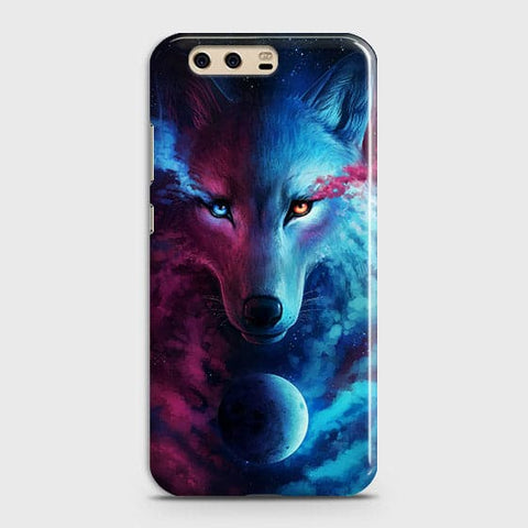 Infinity Wolf 3D Trendy Case For Huawei P10