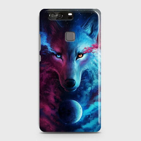 Infinity Wolf 3D Trendy Case For Huawei P9