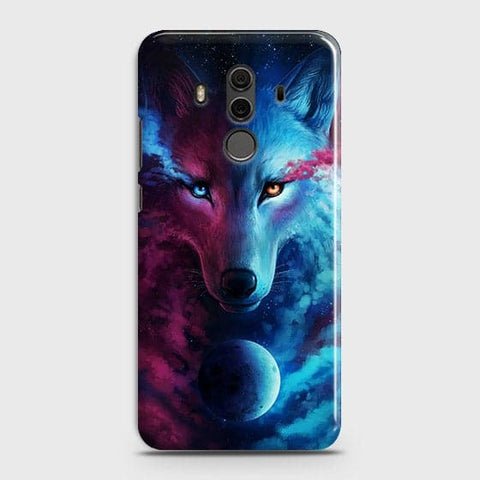Infinity Wolf 3D Trendy Case For Huawei Mate 10 Pro