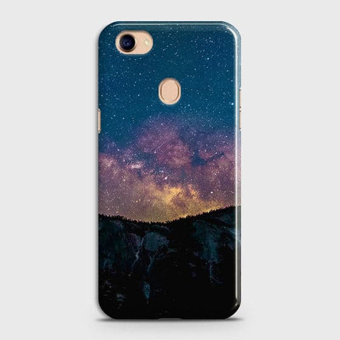Embrace, Dark Galaxy 3D Trendy Case For Oppo F7