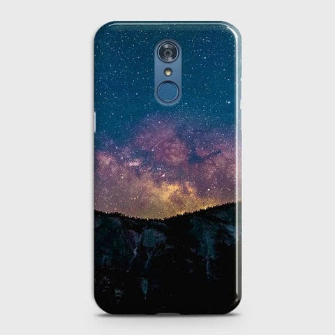 Embrace, Dark Galaxy 3D Trendy Case For LG Q7