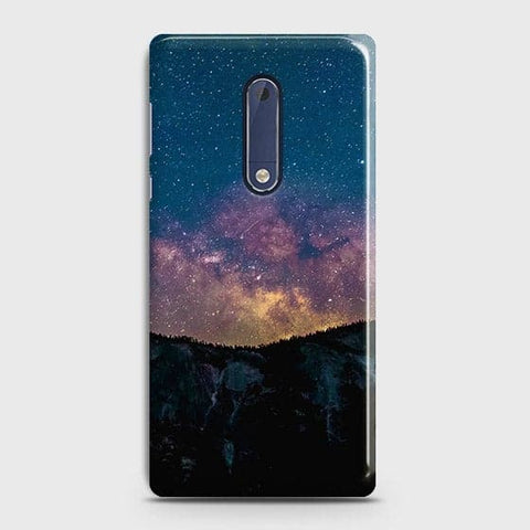 Embrace, Dark Galaxy 3D Trendy Case For Nokia 5
