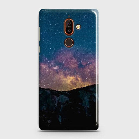 Embrace, Dark Galaxy 3D Trendy Case For Nokia 7 Plus