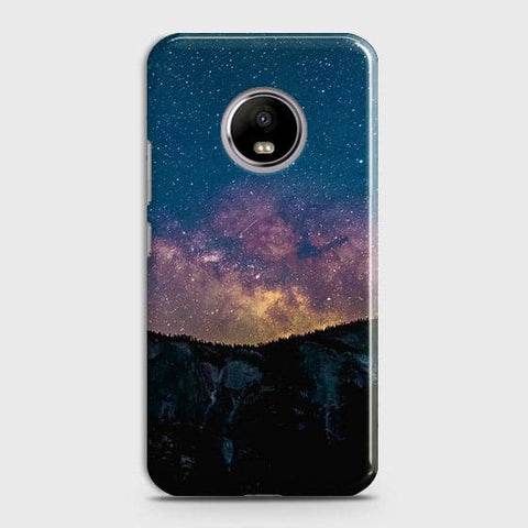 Motorola E4 Plus Cover - Embrace, Dark  Trendy Printed Hard Case With Life Time Colour Guarantee
