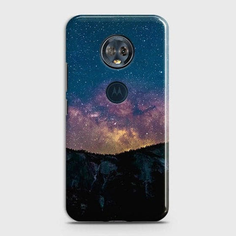 Motorola E5 Plus Cover - Embrace, Dark  Trendy Printed Hard Case With Life Time Colour Guarantee